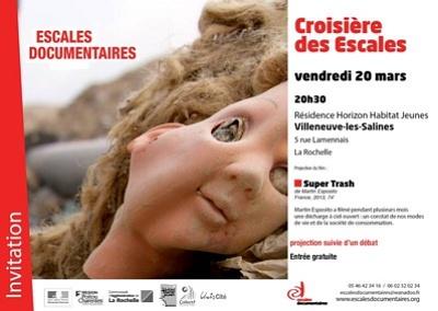 illustration de La Rochelle : projection de Super Trash à Villeneuve, vendredi 20 mars 2015