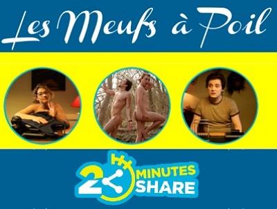 illustration de Humour avec les Meufs à poil : hallucination en soirée, 1er épisode de la websérie du nouveau studio 2 minutes 2 share