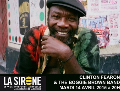 illustration de Reggae à La Rochelle : Clinton Fearon & The Boogie Brown Band à La Sirène, mardi 14 avril 2015