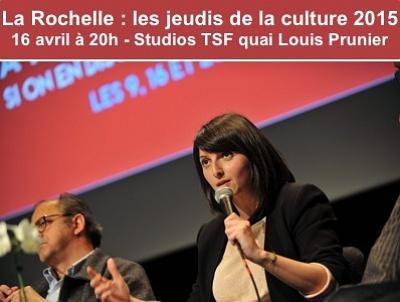 illustration de Assises de la culture à La Rochelle : deux forums, jeudi 16 avril 2015 à 20h aux Studios TSF