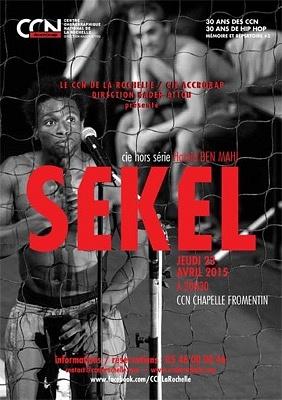 illustration de Danse à La Rochelle : (re)voir Sekel de la compagnie  Hors Série au CCN, jeudi 23 avril 2015