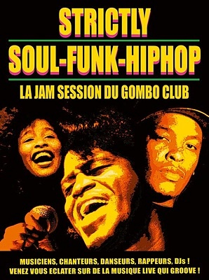 illustration de Soul, funk, hip-hop à La Rochelle : jam session avec le Gombo Club, mardi 12 mai 2015