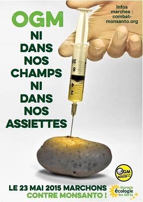 illustration de La Rochelle participe à la marche mondiale contre Monsanto, samedi 23 mai 2015 à 15h