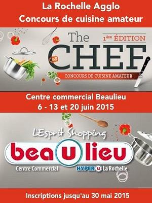 illustration de Agglo La Rochelle : concours de cuisine amateur à Beaulieu-Puilboreau, inscriptions jusqu'au 30 mai 2015