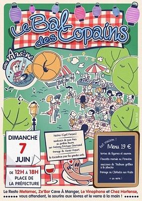 illustration de La Rochelle quartier préfecture : les bistrots invitent au bal des copains, dimanche 7 juin 2015 de 12h à 18h