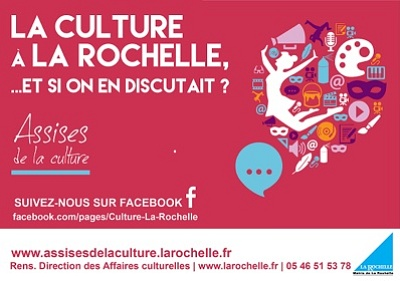 illustration de Assises de la culture à La Rochelle : restitution publique, jeudi 11 juin 2015