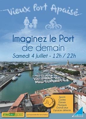 illustration de La Rochelle : vieux port apaisé, lancement festif du dispositif, samedi 4 juillet 2015 !