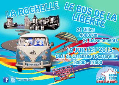 illustration de Droit de mourir dans la dignité à La Rochelle : étape de la tournée d'été avec les jeunes de l'ADMD, dimanche 19 juillet 2015 12h-17h