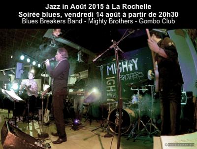 illustration de Soirée blues à La Rochelle à l'affiche de Jazz in Août, vendredi 14 août 2015