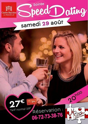 Speed dating la rochelle