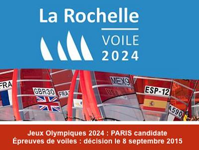 illustration de Paris JO 2024 : La Rochelle candidate pour organiser les épreuves de voile, les athlètes s'engagent !