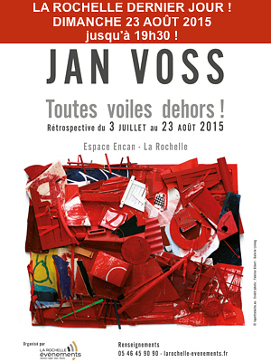 illustration de Grande exposition à La Rochelle : dernier jour pour la rétrospective Jan Voss, dimanche 23 août 2015 !