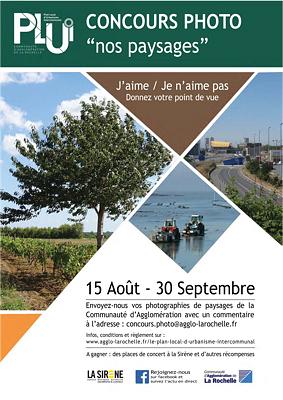 illustration de Paysages de l'agglomération de La Rochelle et urbanisme : concours photo jusqu'au 30 septembre 2015