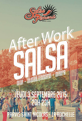 illustration de After-work Salsa à La Rochelle : dansons sur le port, prolongation, jeudi 3 septembre 2015