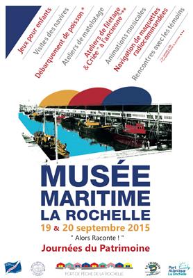 illustration de Musée Maritime de La Rochelle : patrimoine et mémoire maritime les 19 et 20 septembre 2015, pêcheurs et criée aux poissons, samedi matin !