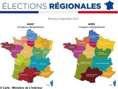 illustration de Nouvelle grande région Aquitaine - Limousion - Poitou-Charentes : deux mois pour convaincre avant les 6 et 13 décembre 2015