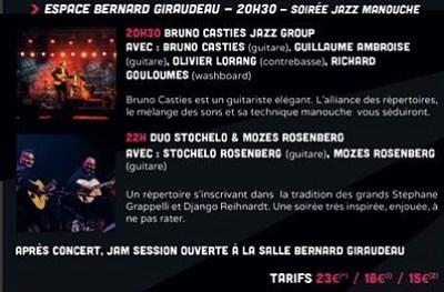 illustration de Soirée jazz manouche à La Rochelle à l'affiche du festival Jeldt, mercredi 7 octobre 2015