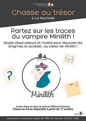 illustration de Nouvelle chasse au trésor à La Rochelle : partez sur les traces du vampire Minilith en famille dès le 17 octobre 2015 !