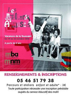 illustration de Aux Musées d'art et d'histoire de La Rochelle : avec des enfants et en famille pendant les vacances, octobre 2015