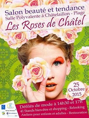 illustration de La Rochelle Agglo : Les Roses de Châtel, salon mode, beauté, bien-être et tendances à Châtelaillon-Plage, dimanche 25 octobre 2015