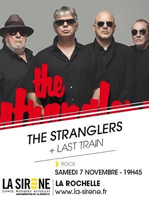 illustration de Légendes rock à La Rochelle : les Stranglers en concert, Last Train en 1ère partie à La Sirène, samedi 7 novembre 2015