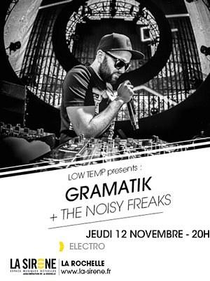 illustration de Soirée électro à La Rochelle : Gramatik et Noisy Freaks à la Sirène, jeudi 12 novembre 2015