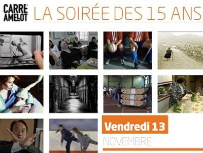 illustration de La soirée des 15 ans des Escales Documentaires à la Rochelle, vendredi 13 novembre 2015