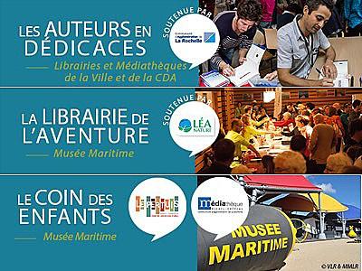 illustration de La Rochelle Agglo : rencontres avec des aventuriers dans les bibliothèques et médiathèques les 19, 20 et 21 novembre 2015
