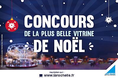 illustration de Concours à La Rochelle : la plus belle vitrine de Noël éco-responsable, inscriptions jusqu'au 25 novembre 2015, participation au plus tard le 3 décembre 2015 !