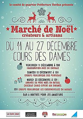 illustration de Vieux Port de La Rochelle : marché de Noël artisanal du Cours des Dames du 11 au 27 décembre 2015