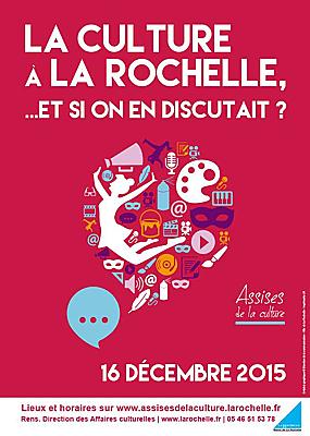 illustration de La Rochelle Assises de la culture : restitution publique, mercredi 16 décembre 2015 à 18h30