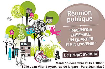 illustration de La Rochelle Agglo : futur quartier de Bongraine, réunion publique à Aytré, mardi 15 décembre 2015