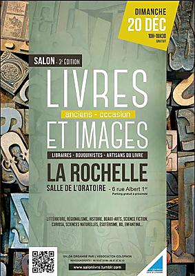 illustration de Livres et images à La Rochelle, salon du salon du livre ancien, de collection et d'occasion, dimanche 20 décembre 2015