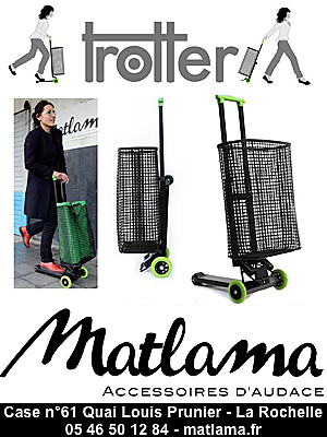 illustration de Made in La Rochelle : le Trotter, un caddy-trottinette signé Matlama pour les écolos urbains !