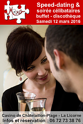 soir e c libataires la rochelle sud speed dating et discoth que ch telaillon samedi 12 mars. Black Bedroom Furniture Sets. Home Design Ideas