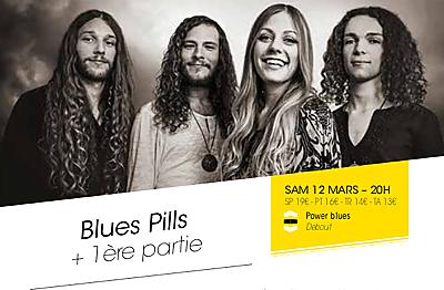 illustration de Heavy rock à La Rochelle : Blues Pills et White Miles à La Sirène, samedi 12 mars 2016
