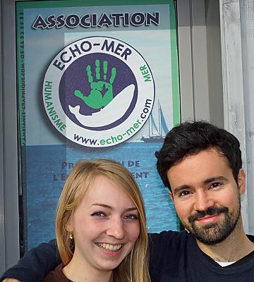 illustration de À La Rochelle, l'association Echo-Mer accueille deux jeunes en service civique