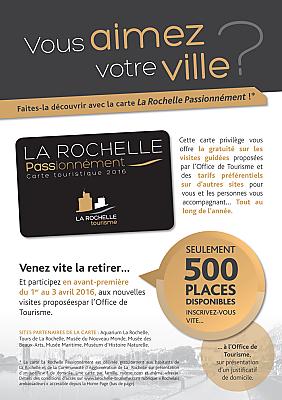 illustration de La Rochelle tourisme : le week-end des Rochelais-ambassadeurs les 1er, 2 et 3 avril 2016