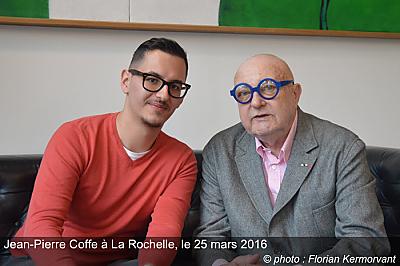illustration de Jean-Pierre Coffe était à La Rochelle, vendredi 25 mars, quelques jours avant sa disparition...