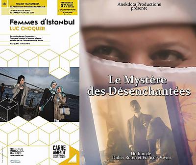 illustration de Femmes d'Istanbul à La Rochelle : projet transmédia, photos de Luc Choquer et webdoc au Carré Amelot, vernissage jeudi 7 avril 2016