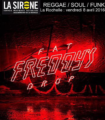 illustration de Reggae, funk, soul à La Rochelle : La Sirène reçoit Fat Freddy's Drop, vendredi 8 avril 2016