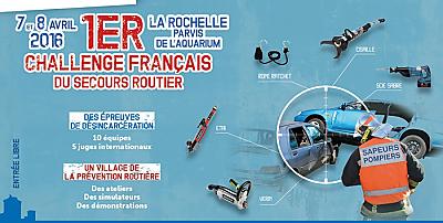 illustration de La Rochelle accueille 1er challenge français du secours routier, jeudi 7 et vendredi 8 avril 2016