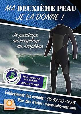 illustration de Echo-Mer lance la revalorisation du néoprène en Charente Maritime.