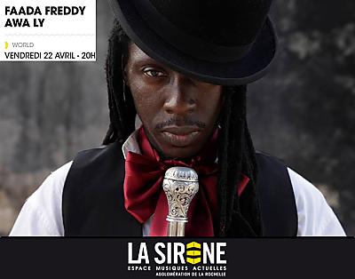 illustration de La Rochelle world music : Faada Freddy et Awa Ly en concert à La Sirène, vendredi 22 avril 2016