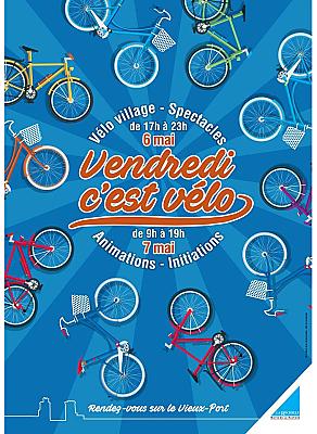 illustration de À La Rochelle, vendredi c'est vélo ! Rendez-vous sur le vieux port vendredi 6 et samedi 7 mai 2016