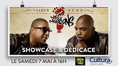 illustration de Événement reggae rap à La Rochelle : Neg Marrons en showcase avec Valeur sûre chez Cultura, samedi 7 mai à 16h