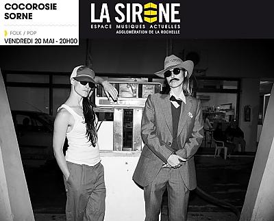 illustration de Pop-folk à La Rochelle : CocoRosie en concert à La Sirène, vendredi 20 mai 2016