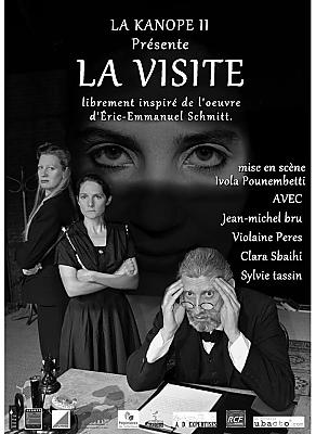 illustration de La Rochelle Lagord : La visite par la master-class théâtre de La Kanopé II les 27, 28 et 29 mai 2016