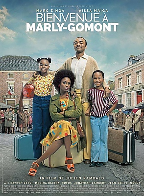 illustration de LA BO du film Bienvenue à Marly Gomont enfin disponible !