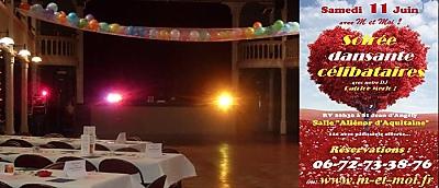 illustration de Célibataires de Charente-Maritime : soirée dansante à Saint Jean d'Angély, samedi 11 juin 2016